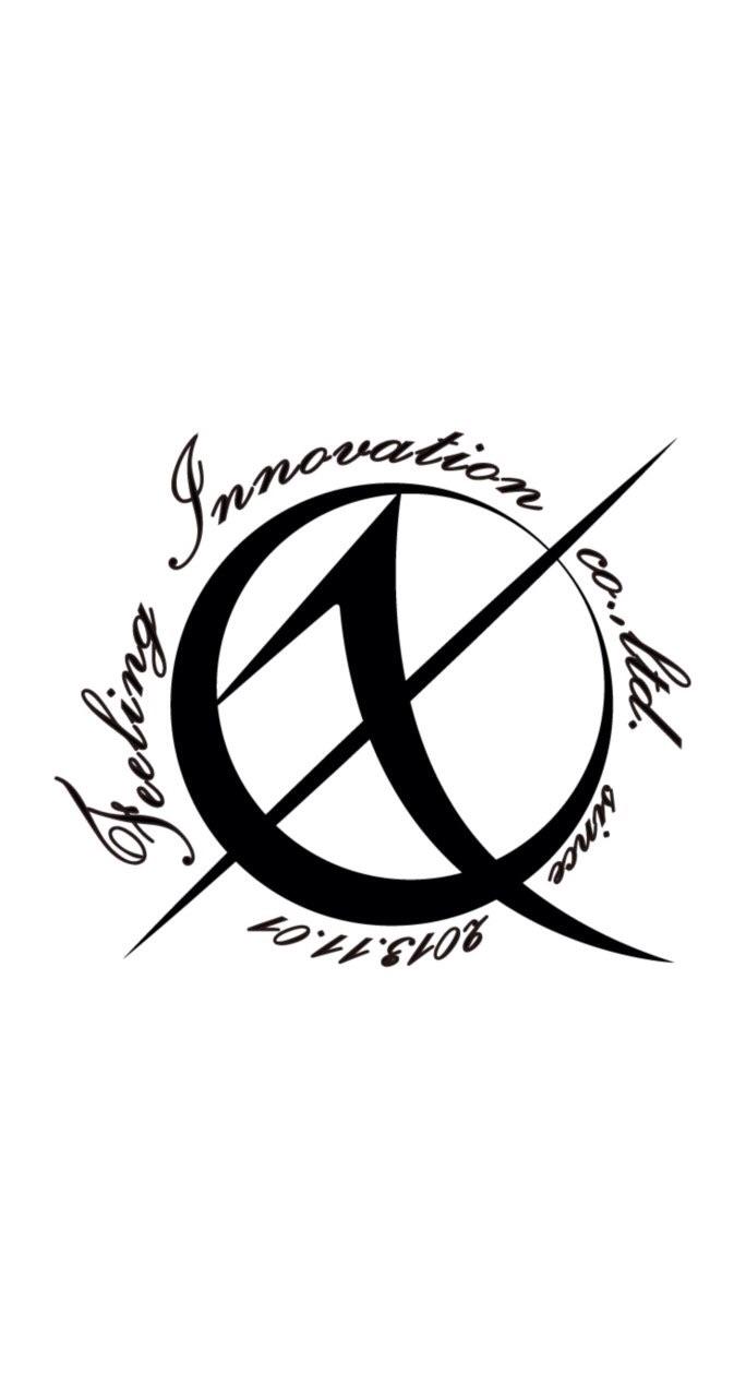 会社のロゴマークになります(^^) Feeling innovation Co., Ltd.