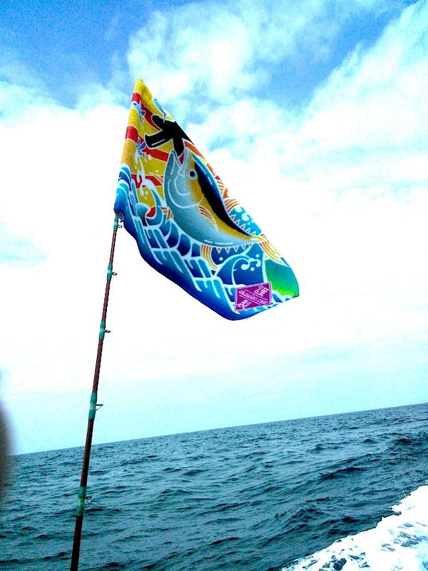 大漁旗タオルは縁起が良い!