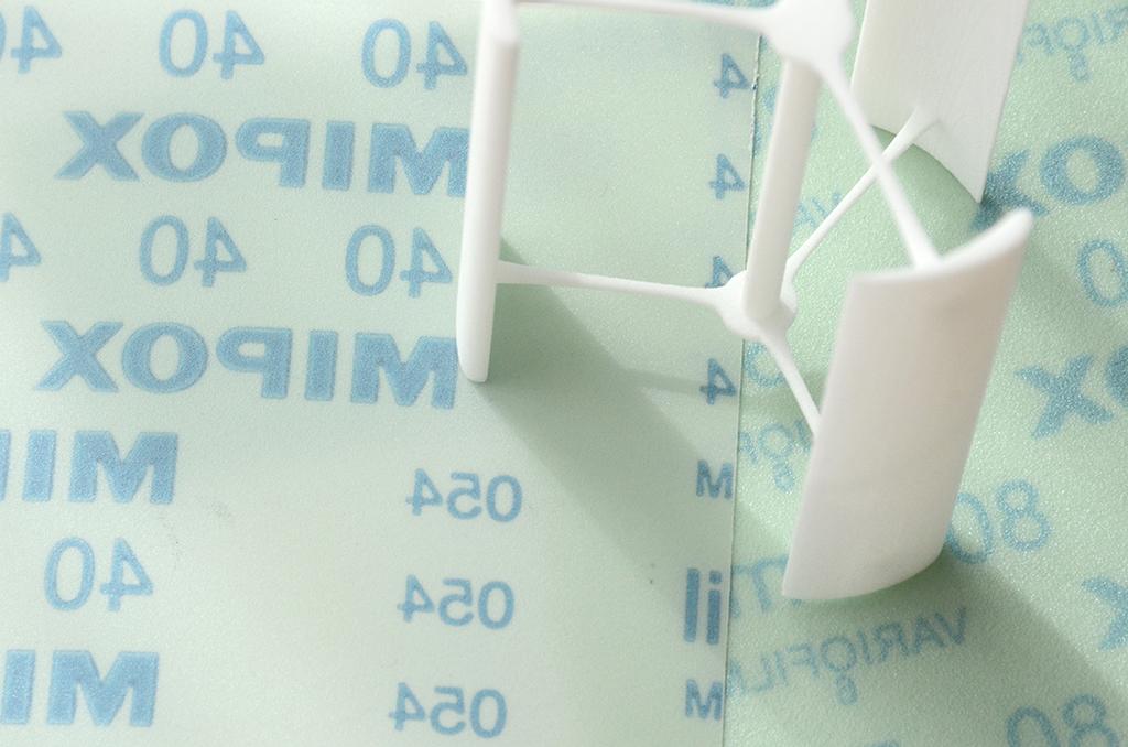粉末積層方式ナイロン素材の仕上げ事例