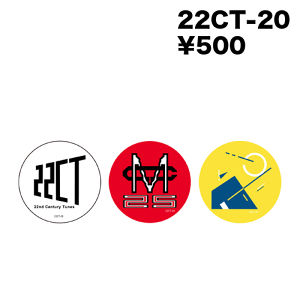 22CT-18 Image Can Badge × 3