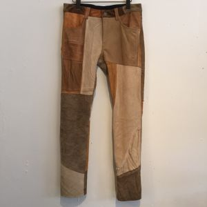 【Children of the discordance】 PATCH LETHER PANTS [2]