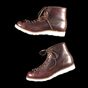 U.S. OIL LEATHER MONKEY BOOTS
