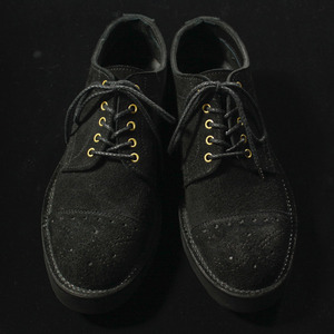 VOLUME SUEDE SHOES BLACK
