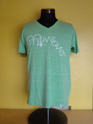 move over T-shirts  V- neck Tri-Brend