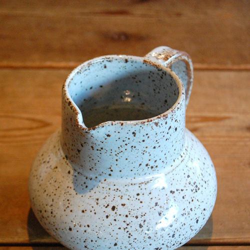 Pitcher with cork