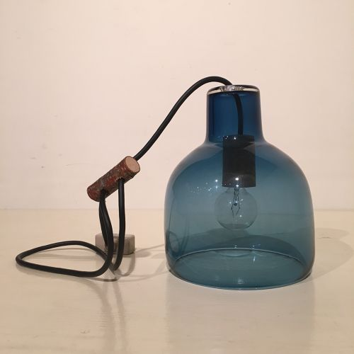 Bottle Lamp / Original Blue / Landscape Products × Studio Prepa ブラックコード