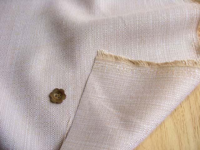 リネン混ソフトツイード(織物)