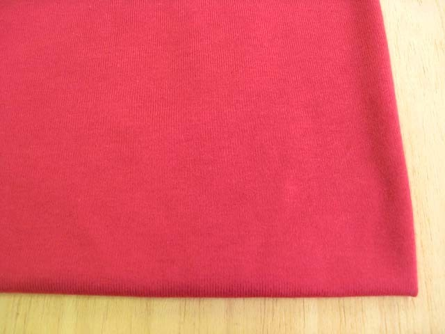 綿コーマ糸フライスニット