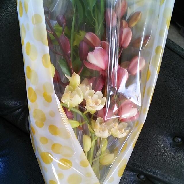 お祝いにも♪シンビの花束・MIX