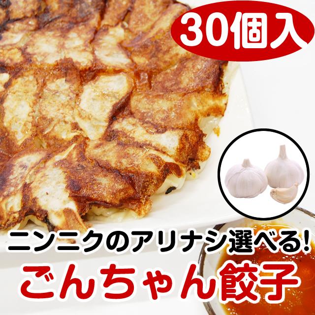 (TV番組で紹介!)ごんちゃん餃子【30個入】
