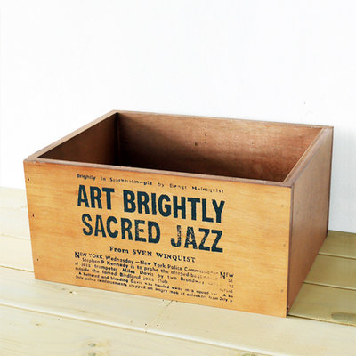 収納やガーデニングなどいろんな場面で大活躍しそうなオリジナル木箱
