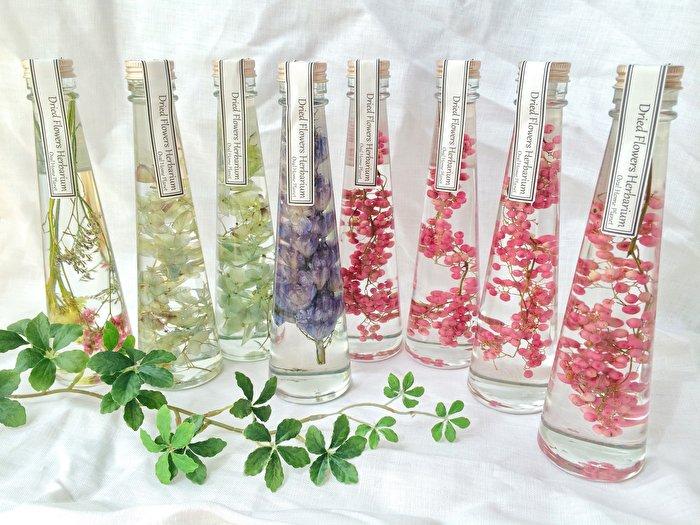 美しい手作りの植物標本「ハーバリウム」をお部屋に飾ってみませんか?