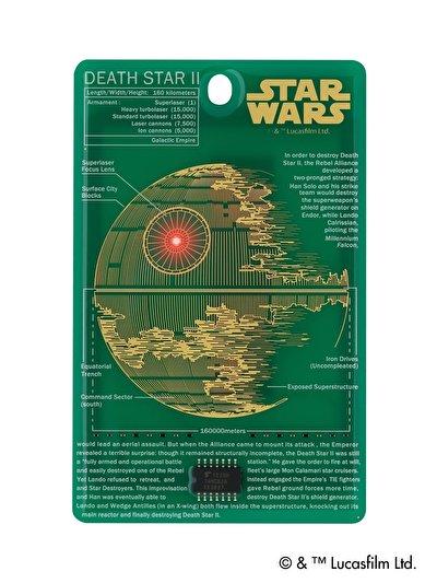 「スター・ウォーズ」ファン必見!物語の要でもある「デス・スター」を精巧な作りでICカードケースに再現!?