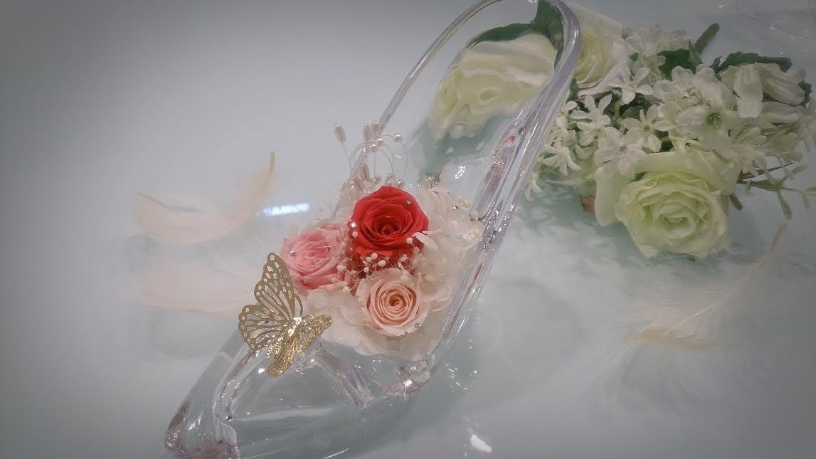 キラキラシンデレラ靴✨【プレゼントに】