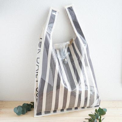 【KINARIYA】スーパーの袋から型をとったビニールバッグ