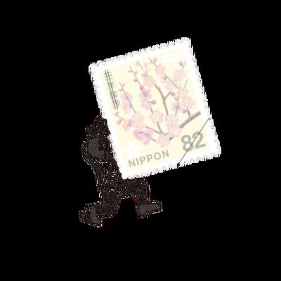 手紙にそえる、小さな世界の物語【切手のこびと】