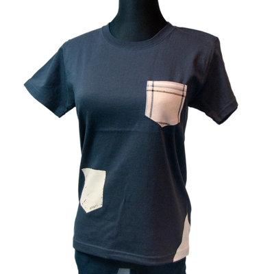 夏でも透けない!厚手のボディにインテリア生地を使ったポケットTシャツ