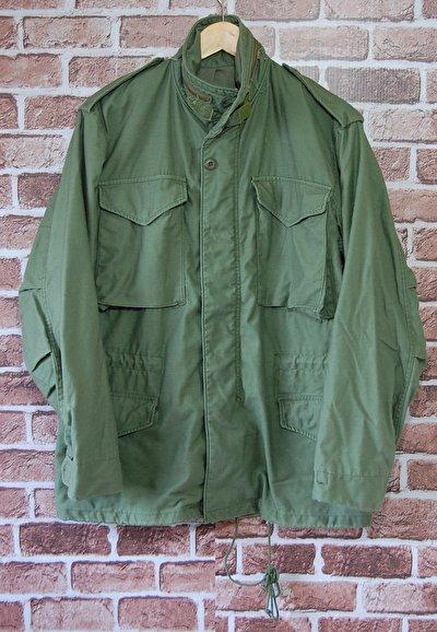 アーバンミリタリー、M-65フィールドジャケットでかっこよく。
