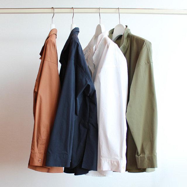 欲張り派には「コットンシャツ」がおすすめ!トレンド感と上質さを備える好印象アイテム