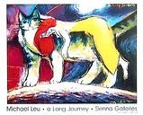 マイケル・ルーの描くネコの世界。