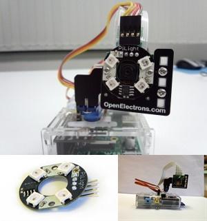 Openelectrons社のPi-Pan Tilt Kit