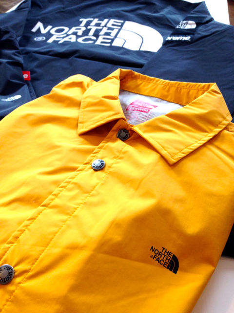 Supreme/The North Face Coaches Jackets 少量入荷!