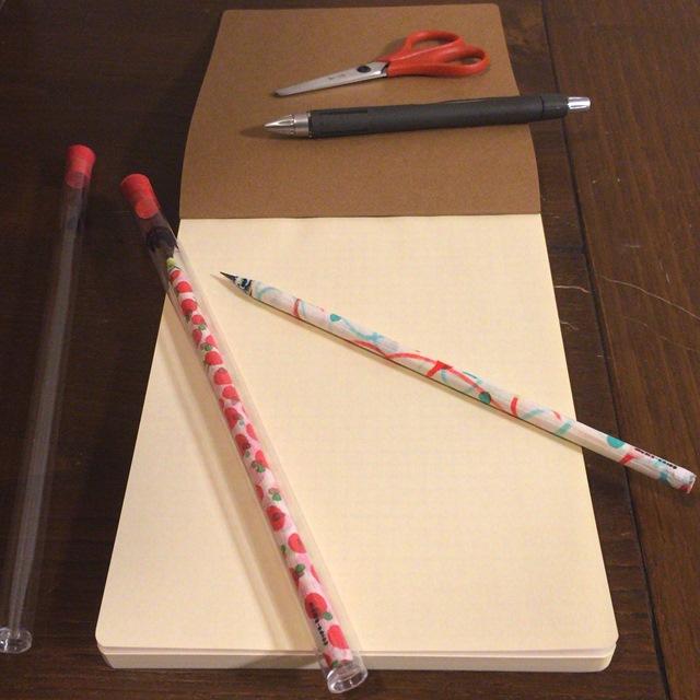 【 デザイン雑貨 Hand Drawing Paper Pencil 】