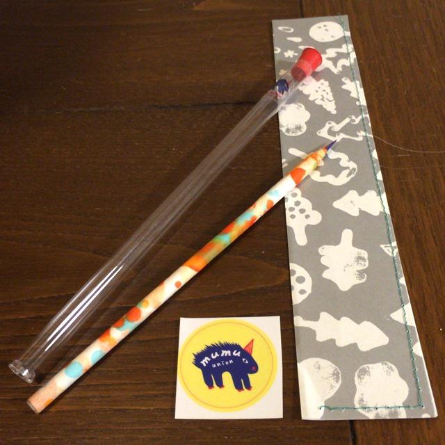 【 デザイン雑貨 Color Dot Paper Pencil 】