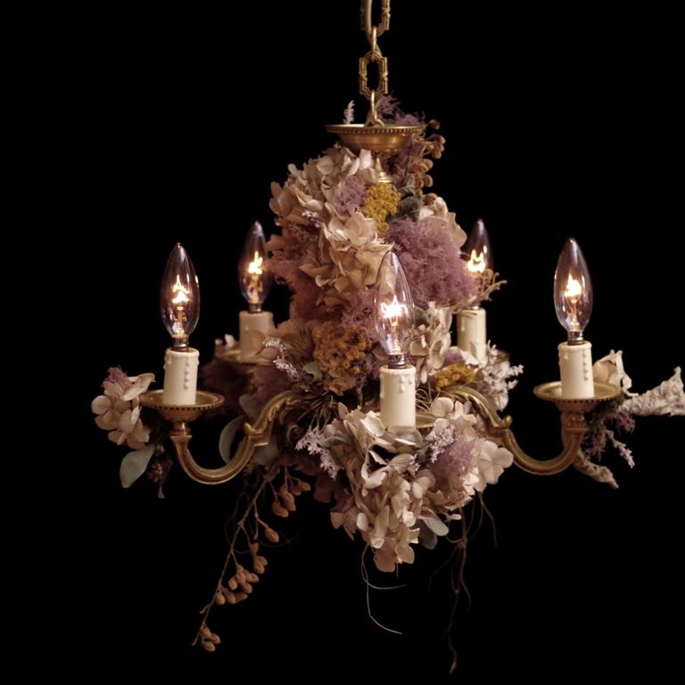 NEW ARTWORK UPDATE chandelier france vintage 2