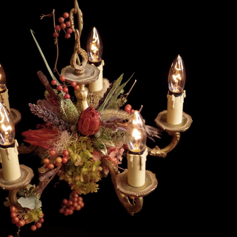 NEW ARTWORK UPDATE chandelier  france vintage