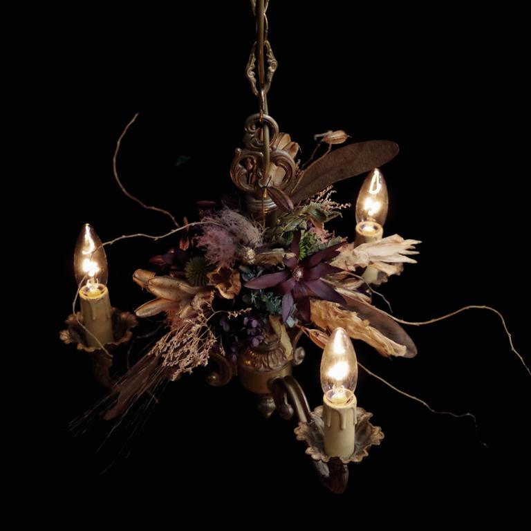 NEW ARTWORK UPDATE chandelier france vintage 3