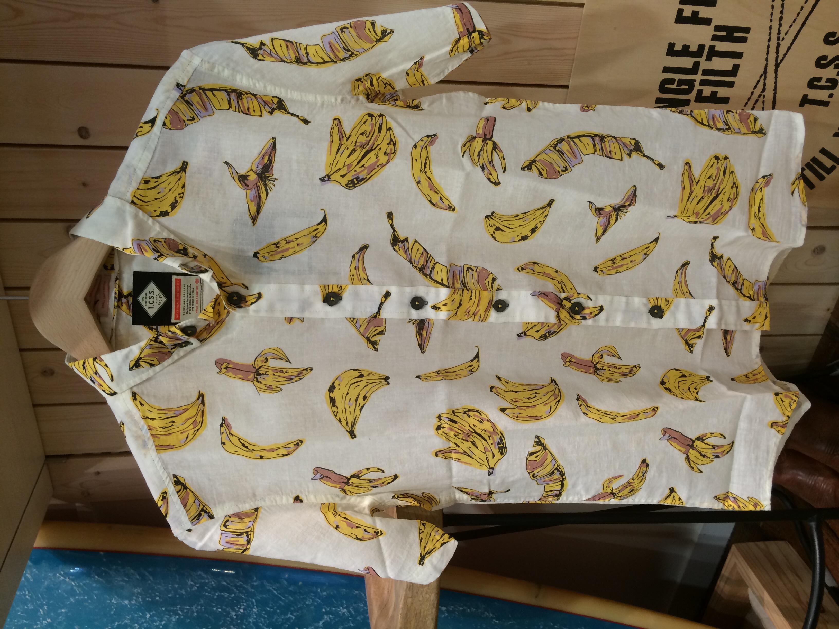 TCSS 人気のバナナシャツ入荷❗️
