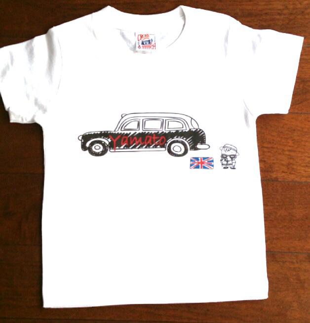 夏男!ロンドン名入れTシャツ