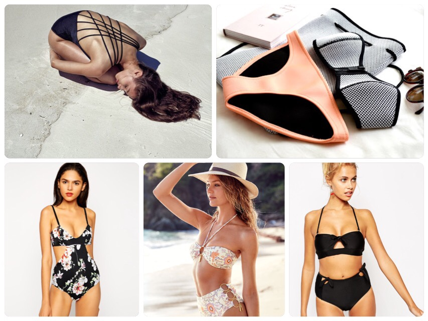 2015 Swimwear Trend - 進化系変形ビキニの台頭