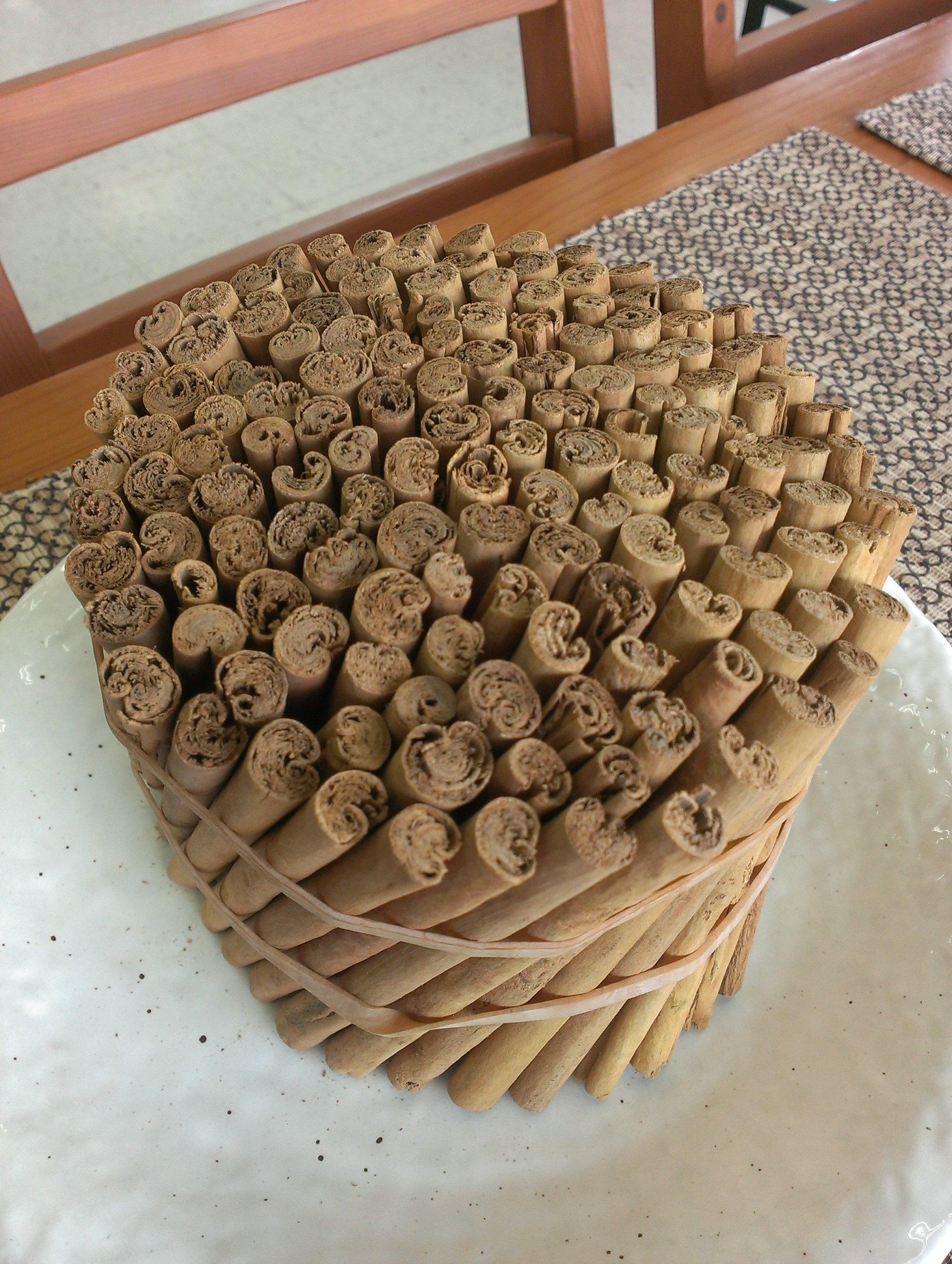 スリランカ産のセイロンシナモンを使った「セイロンシナモンコーヒー」できました!!