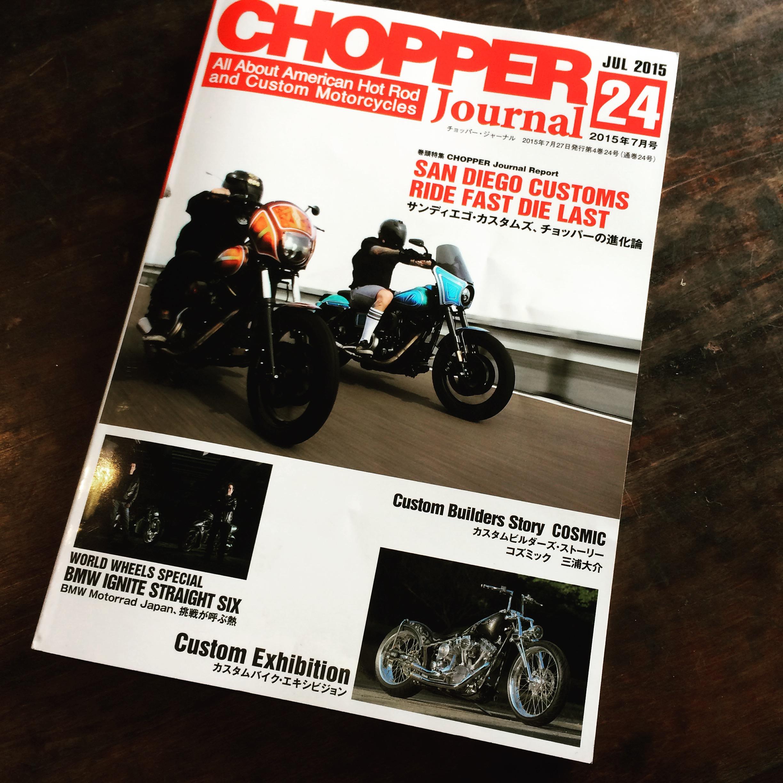 【CHOPPER jornal】