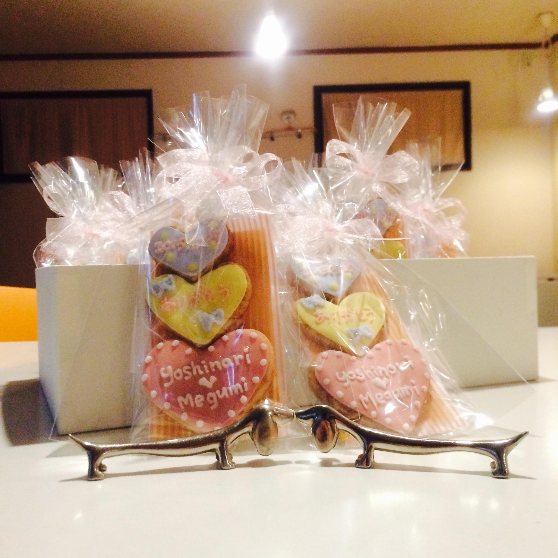 お客様デザインのHappy Wedding gift完成です〜❤️お幸せに〜❤️