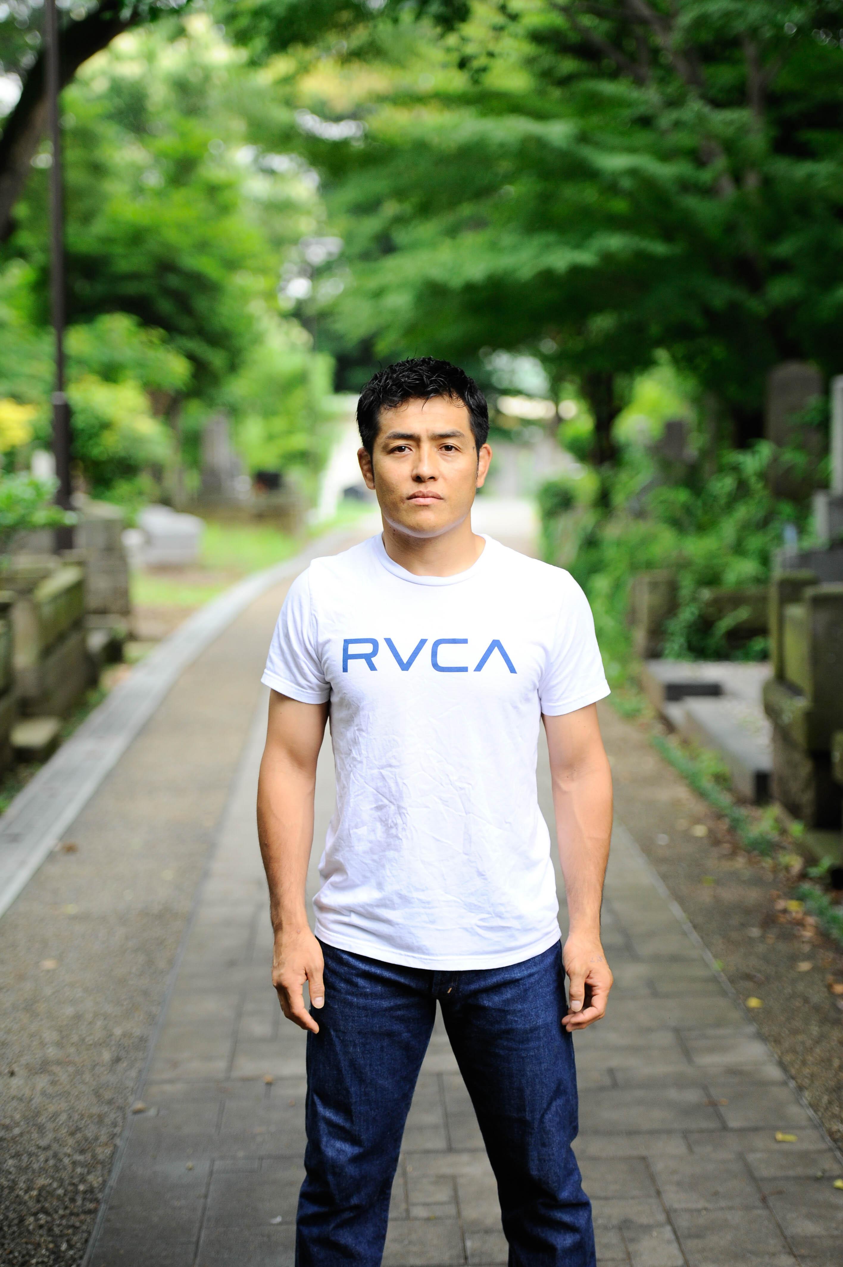 CARPE DIEM x RVCA の新作Tシャツ
