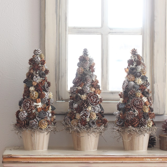 木の実たっぷりスパイスツリーでクリスマスの準備始めませんか?
