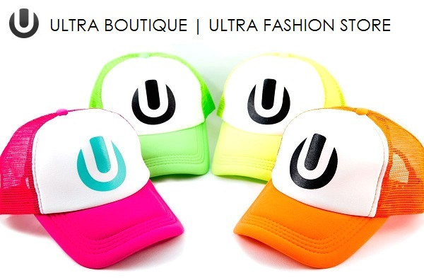 UMF グッズ マイアミ 限定 ULTRA TWO-TONE ネオンキャップ 最入荷!