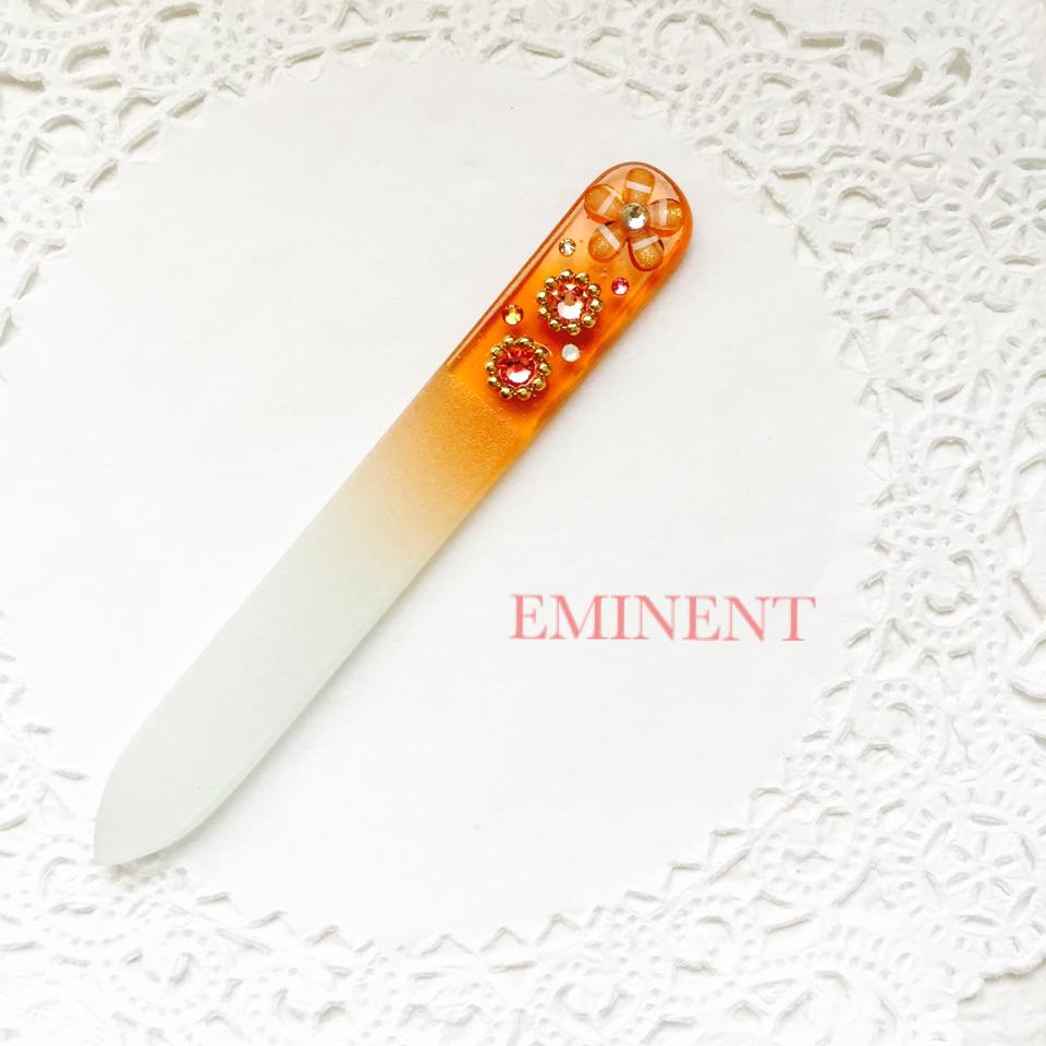 新商品☆スワロデコガラス製爪ヤスリを4種類アップしました(*^^*)
