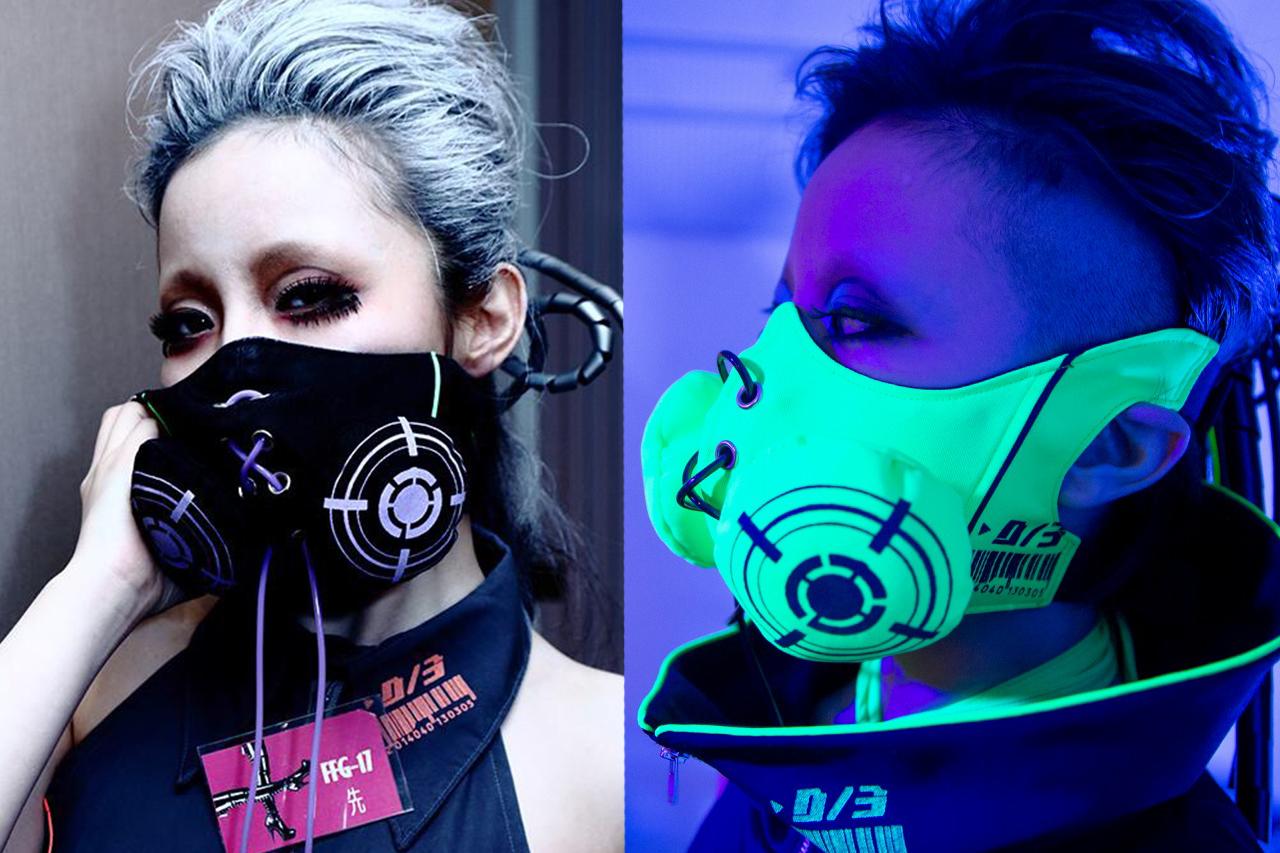 サイバーガスマスク、完成秘話。布製のガスマスクを作りたい!! D/3(ディースリー)