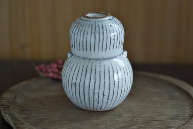 陶器の酒器セットでちびりちびりと熱燗を