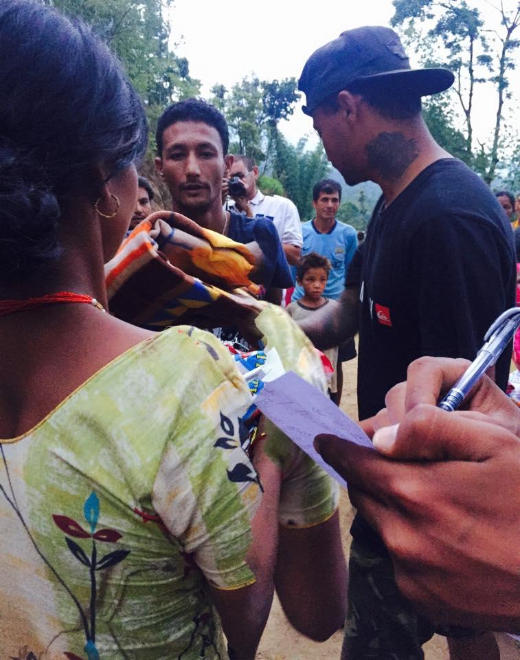 ネパールからのメッセージです