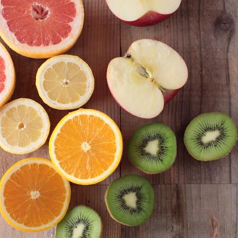 スムージーを作る時、果物の組み合わせはこんな風に考えています。