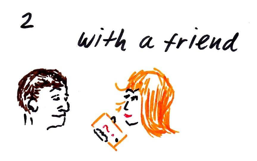 ■「質問されるだけで、人は幸せになれるのか!」& with a friend編(音声)