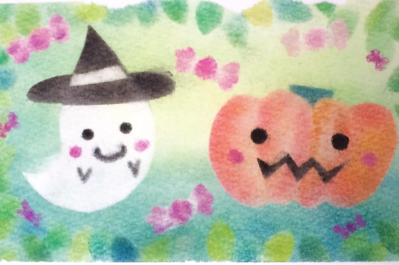 HappyHalloweenの型紙&描き方動画♪
