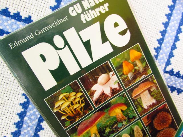 きのこの本、ドイツより届いたものです。