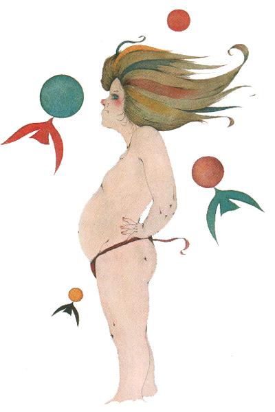 絵師 米倉斉加年 の作品が、アート作品として登場。