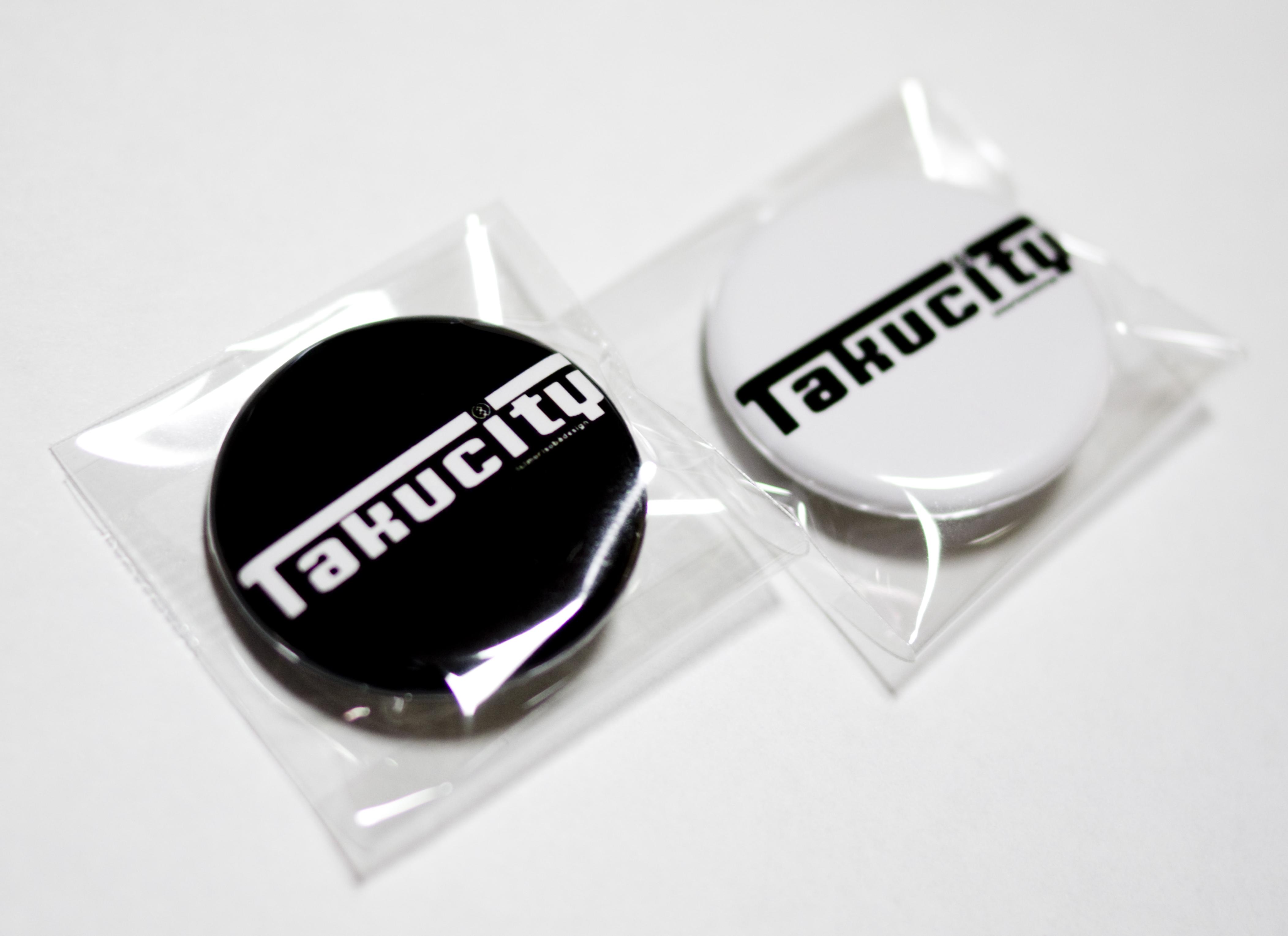 新発売!『Takucity』缶バッジ!( ´ ▽ ` )